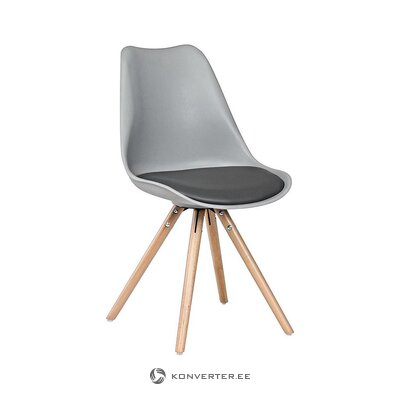 Gray-brown chair (bizzotto) (healthy, sample)