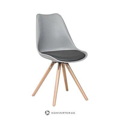 Серо-коричневый стул (bizzotto) (мелкие недочеты холл образец)