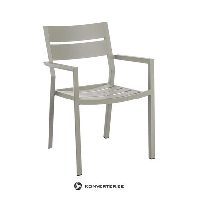 Beige hall garden chair (bizzotto)