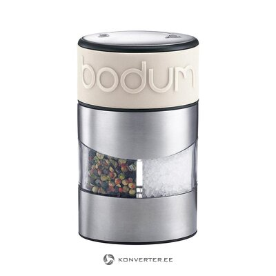 Salt and pepper mill (bodum) (whole, in a box)