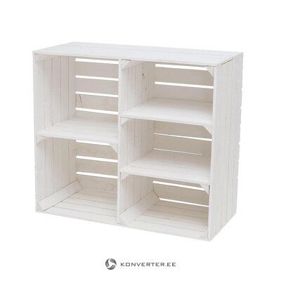 White design shelf (boltze) (hall sample, whole)