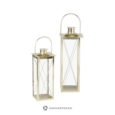 Candle lantern set (2 pcs) (boltze) (whole, in a box)