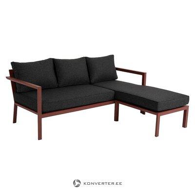 Sodo kampinė sofa (brafabas) (su defektais. Salės pavyzdys)