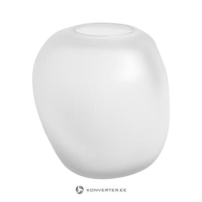 White small flower vase (copenhagen) (whole, in a box)