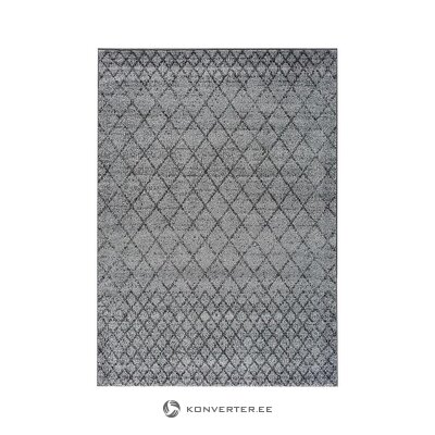 Gray carpet with pattern (besolux) (in box, whole)