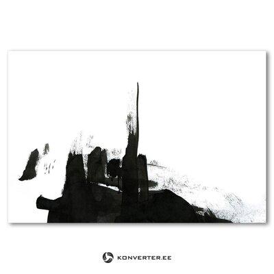Mustavalkoinen seinämaalaus azumi (c-con) (virhe hallinäyte)