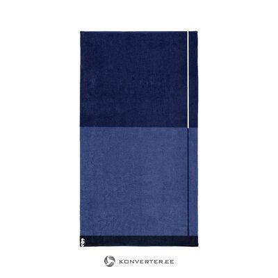 Blue sauna towel (seahorse) (whole, in a box)