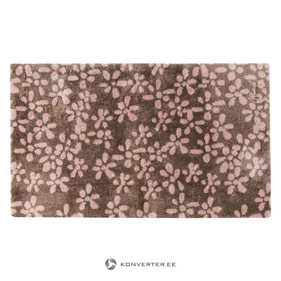 Floral door mat (rugs)
