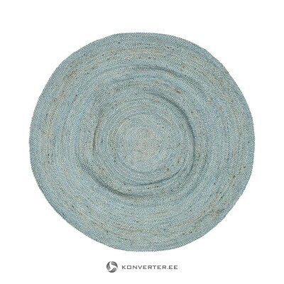 Light blue round carpet (eightmood) (in box, whole)
