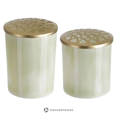 Flower vase set (f & h of scandinavia) 2pcs) ((whole, in a box)