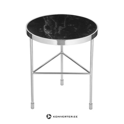 Gray-black marble coffee table verona (fink) (with defects., Hall sample)