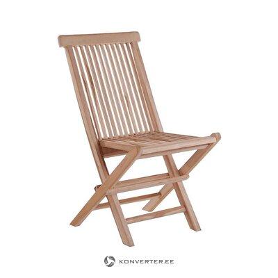 Садовый стул складной (дакоре) (целый, в коробке)