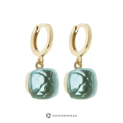 Blue silver earrings (gemshine) (whole, hall sample)