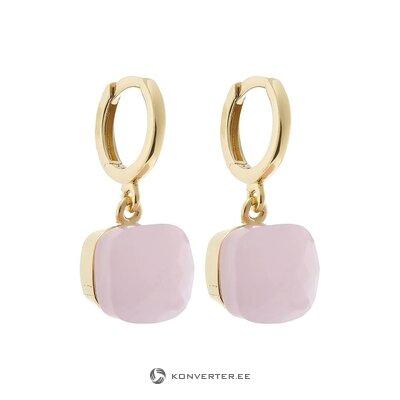 Silver earrings (gemshine) (whole, in box)