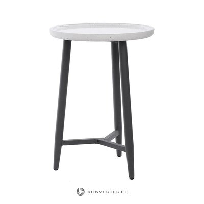 Black and white garden table (miloo home)