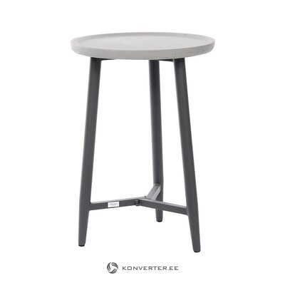 Gray-black garden table (miloo home)