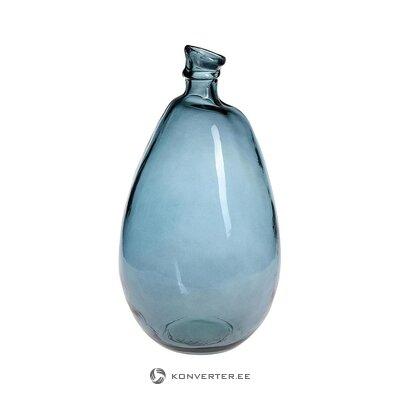 Ваза для цветов синяя (miloo home) (целиком, в коробке)