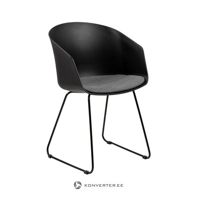 Black chair (industrial) (whole, in box)