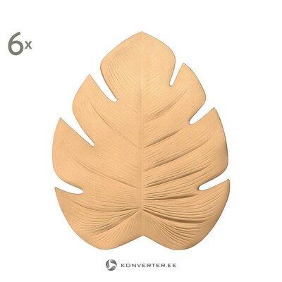 Krūzes paplātes komplekts 5 gab. (Inarts) (zāles paraugs, ar skaistuma defektiem)