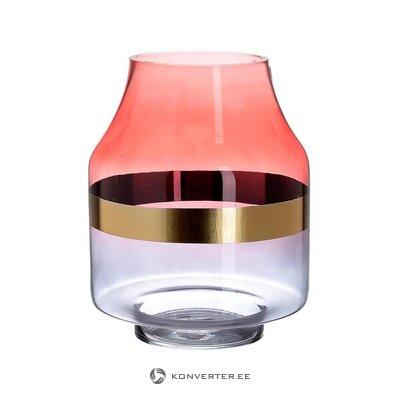 Värillinen kukkamaljakko (inart) (kokonainen, laatikossa)