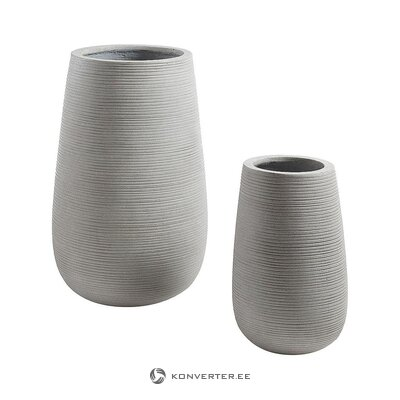 Flower pot set 2-piece (julià group) (whole, in a box)