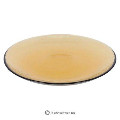 Желтая тарелка (julià grup) (целая, в коробке)