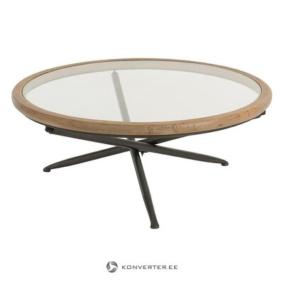 Brown-black coffee table (jolipa) (with beauty defects., Hall sample)