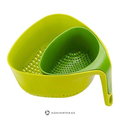 Sieve set 2-piece (joseph joseph) (whole, in box)