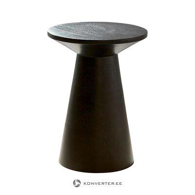 Melna dizaina kafijas galdiņš (jotex) (vesels, kastē)