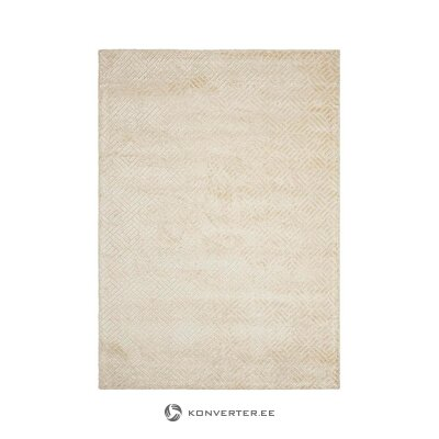 Beige viscose carpet (ellos) (whole, in box)