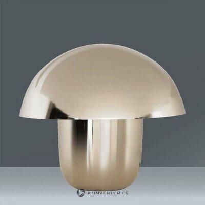 Настольная лампа серебряная (черновой дизайн) (копия) (целая, холл образец)