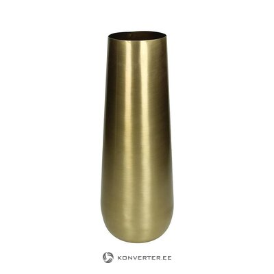 Golden flower vase (hd collection) (hall sample, with beauty defect,)