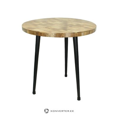 Brūni-melns kafijas galdiņš (kersten) (vesels, kastē)