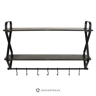 Musta metalliripustin (savupiippu) (kokonainen, laatikossa)