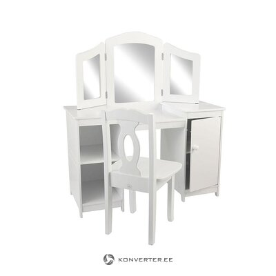 Детский туалетный столик (кидкрафт) (бракованный, зал пробы)