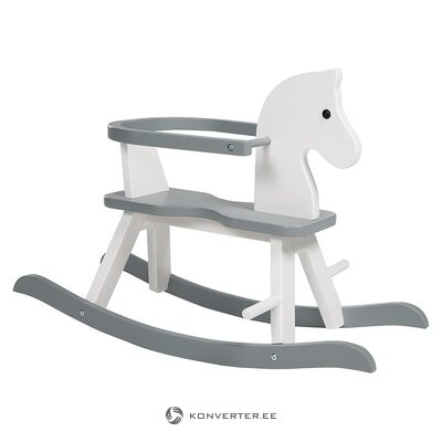 Gray-white rocking horse (roba kids) (whole, in box)
