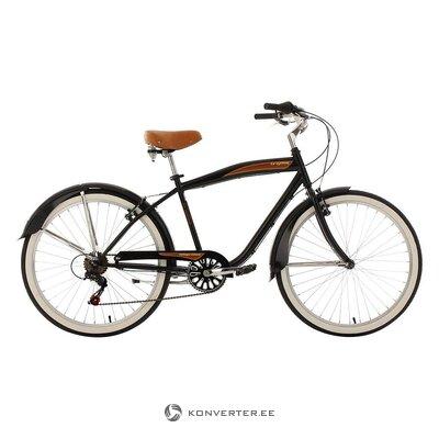Brown-black men's bicycle (see cycling)