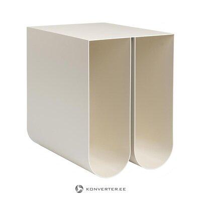 Kirkas design-sohvapöytä (Kristina Dam) (koko, laatikossa)