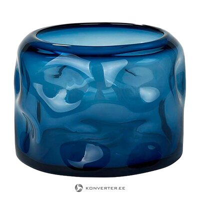 Blue flower vase (lambert) (whole, in a box)