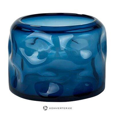 Zilo ziedu vāze (lambert) (vesela, paraugs)