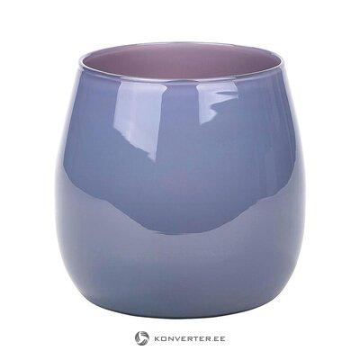 Ваза для цветов фиолетовая (ламберт) (целая, в коробке)