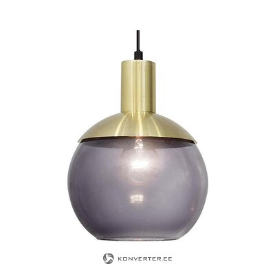 Purple pendant light (mb lighting)