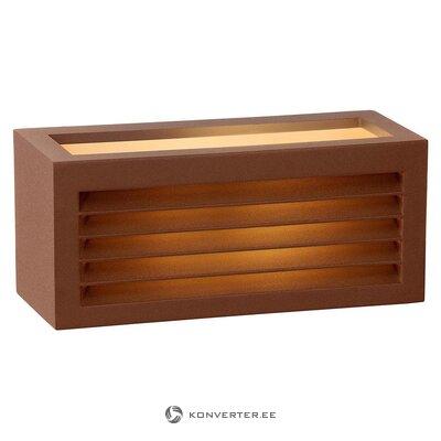 Āra sienas gaisma (lucide) (vesela, kastē)