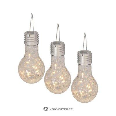 Светодиодные полевые декоративные светильники 3 шт. (Лицевая) (целиком, в коробке)