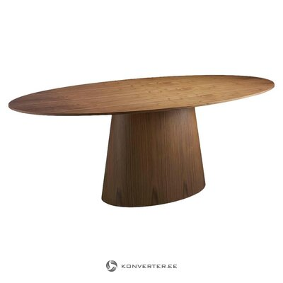 Walnut dining table (Ágel cerdá) (with beauty defects., Hall sample)