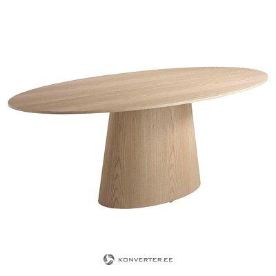 Valriekstu ovāls pusdienu galds (ángel cerdá)