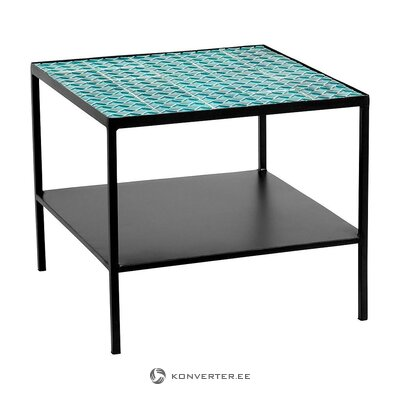 Sinimusta sohvapöytä (nordal) (kokonainen, laatikossa)