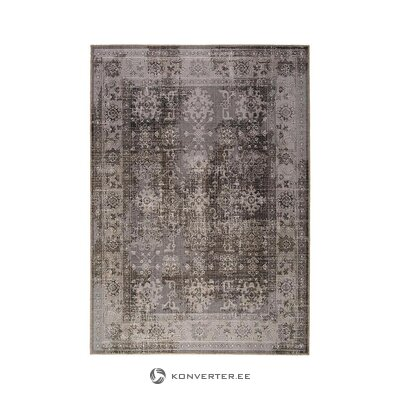 Gray patterned carpet (obsession home fashion) (in box, whole)