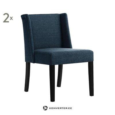 Melni zils krēsls (ted lapidus)