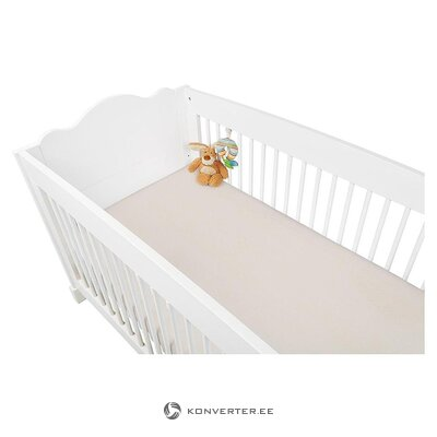 Cot linen with rubber (pinolino)
